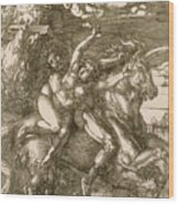 Rape Of Prosperpina Wood Print