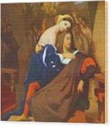 Raphael And Fornarina 1840 Wood Print