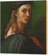 Raphael Portrait Of Bindo Altoviti Wood Print