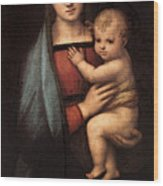 Raphael The Granduca Madonna Wood Print