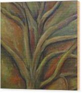Rapt Wood Print