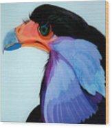 Raptor 5 Wood Print