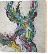 Raptor Dna Wood Print