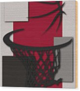 Raptors Hoop Wood Print