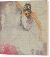 Rapture In Dance Wood Print