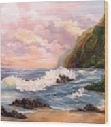 Rapturous  Seascape Wood Print