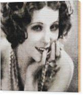 Raquel Torres, Vintage Actress Wood Print