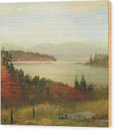 Raquette Lake Wood Print