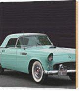 Rare 55 Thunderbird Wood Print