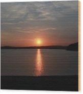 Rare Sunset 1 Wood Print