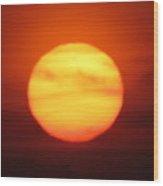 Rare Sunset 3 Wood Print