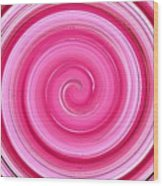 Rasberry Ripple  Wood Print
