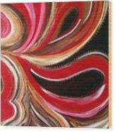 Raspberry Pralines N Wood Print
