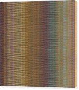 Raspberry Tonal Tapestry Wood Print
