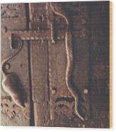 Rat And Snake Wood Print