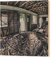 Rat Nest, Real Estate Series Wood Print