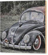 Rat Rod Beetle Wood Print
