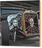 Rat Rod Style Wood Print