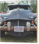 Rat Rods - 1952 Dodge Front End Wood Print