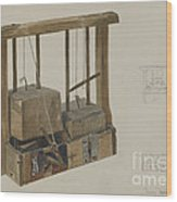 Rat Trap Wood Print