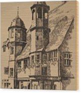 Rathaus Wood Print
