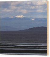 Rathtrevor Beach On Vancouver Island In British Columbia Wood Print