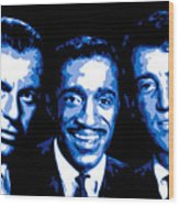Ratpack Wood Print by DB Artist