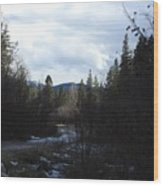 Rattlesnake Recreation  Area Wood Print