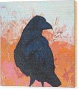 Raven IIi Wood Print
