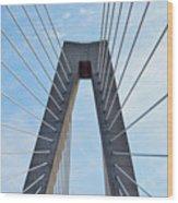 Ravenel Bridge Charleston Wood Print