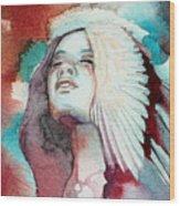 Ravensara Wood Print