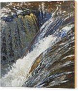Ravenskill Falls Wood Print