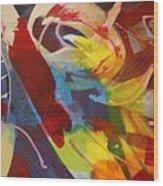 Raw Paint - 281 Wood Print