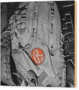 Rawlings In Red Wood Print by Jame Hayes