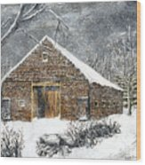 Ray Emerson's Old Barn Wood Print
