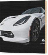 Ray Of Light - Corvette Stingray Wood Print