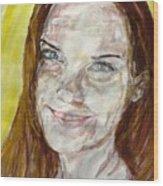 Rayah Newman, Portrait Wood Print