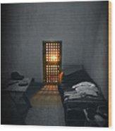 Rays Of Freedom Wood Print
