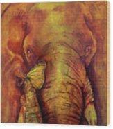 Re-birth Wood Print