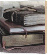 Reading Material Wood Print