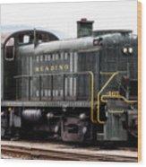 Reading Rr Engine 467 Wood Print