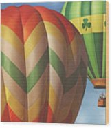 Readington Balloon Festival #2 2015 Wood Print
