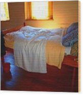 Ready For Bed Wood Print