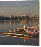 Ready For Sailing Wood Print