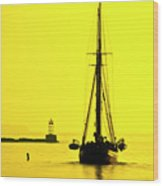 Ready For Sails  Wood Print