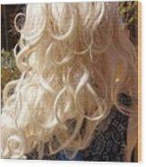 Real Blond Wood Print