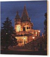Real Life Minas Tirith Budapest Wood Print