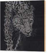 Realistic Cheeta Wood Print