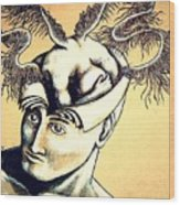 Realization Inner Self Of The Being Wood Print by Paulo Zerbato