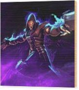 Reaper Overwatch Wood Print